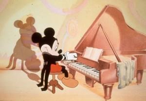 mickey piano