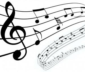 partition musique dessin